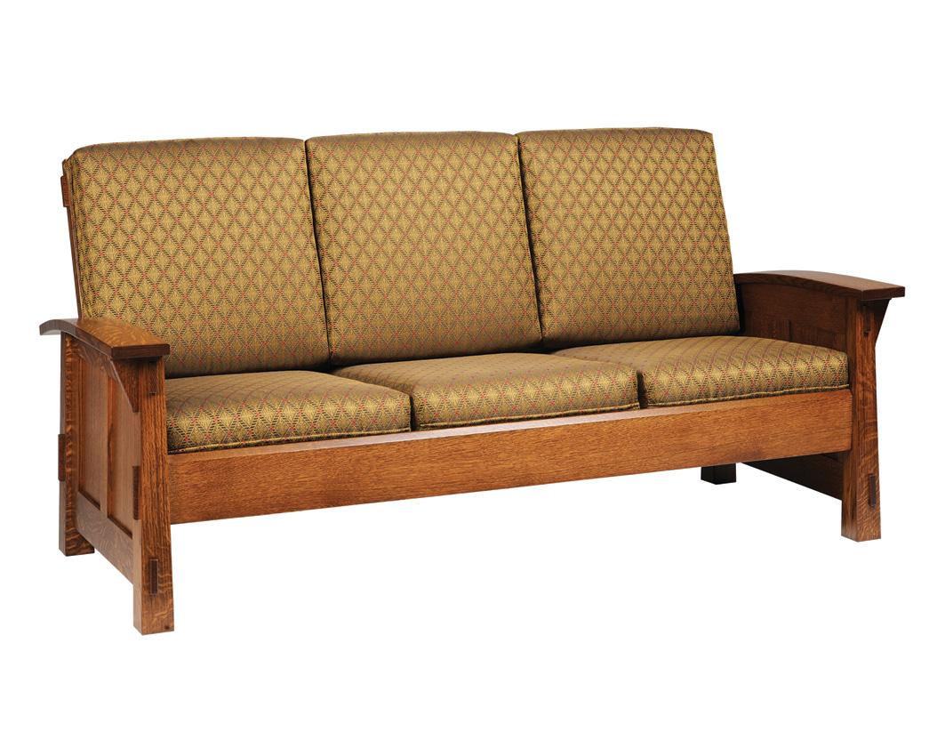 shaker style sofa plans best modern sofas 2018 olde amish furniture designed