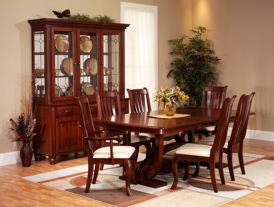 queen anne living room sets sears sofa hampton dining amish furniture designed