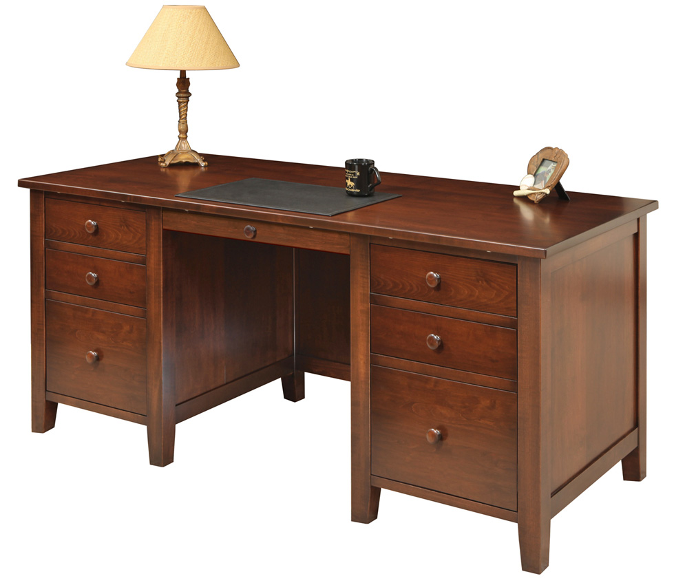 Manhattan Desk Amish Furniture Designed