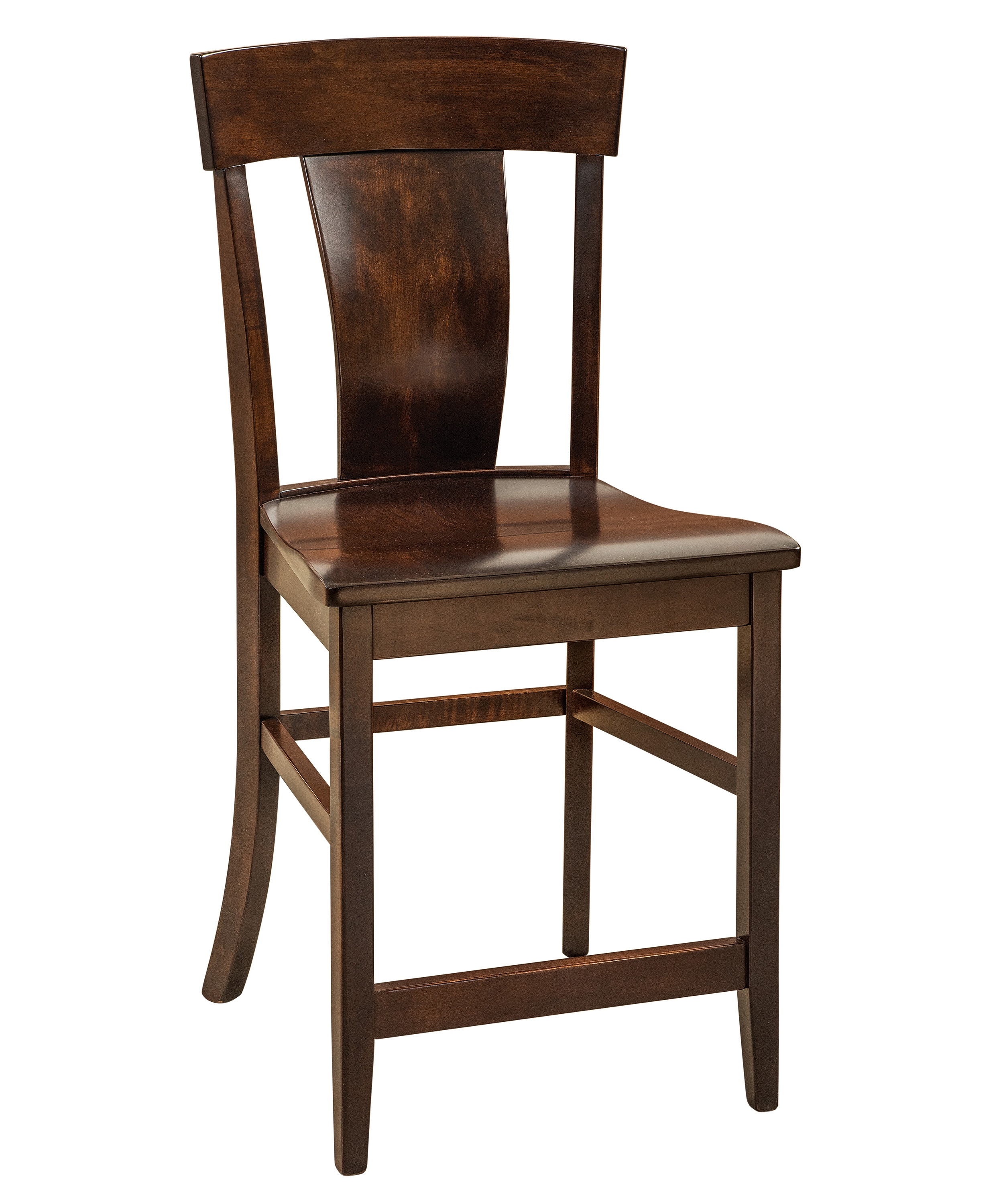 stool chair height chapel chairs with kneelers philippines f andn amish stationary counter wood