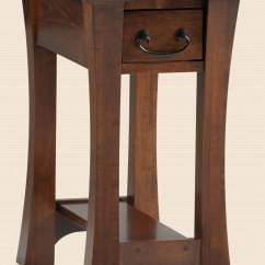 Amish Built Sofa Tables Simple Design Wood Home Furnishings Furniture In Daytona Beach Florida Chairside