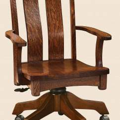 Desk Chair Made Wedding Covers Cheap Uk Amish Home Furnishings Furniture In Daytona Beach Florida Cheyenne