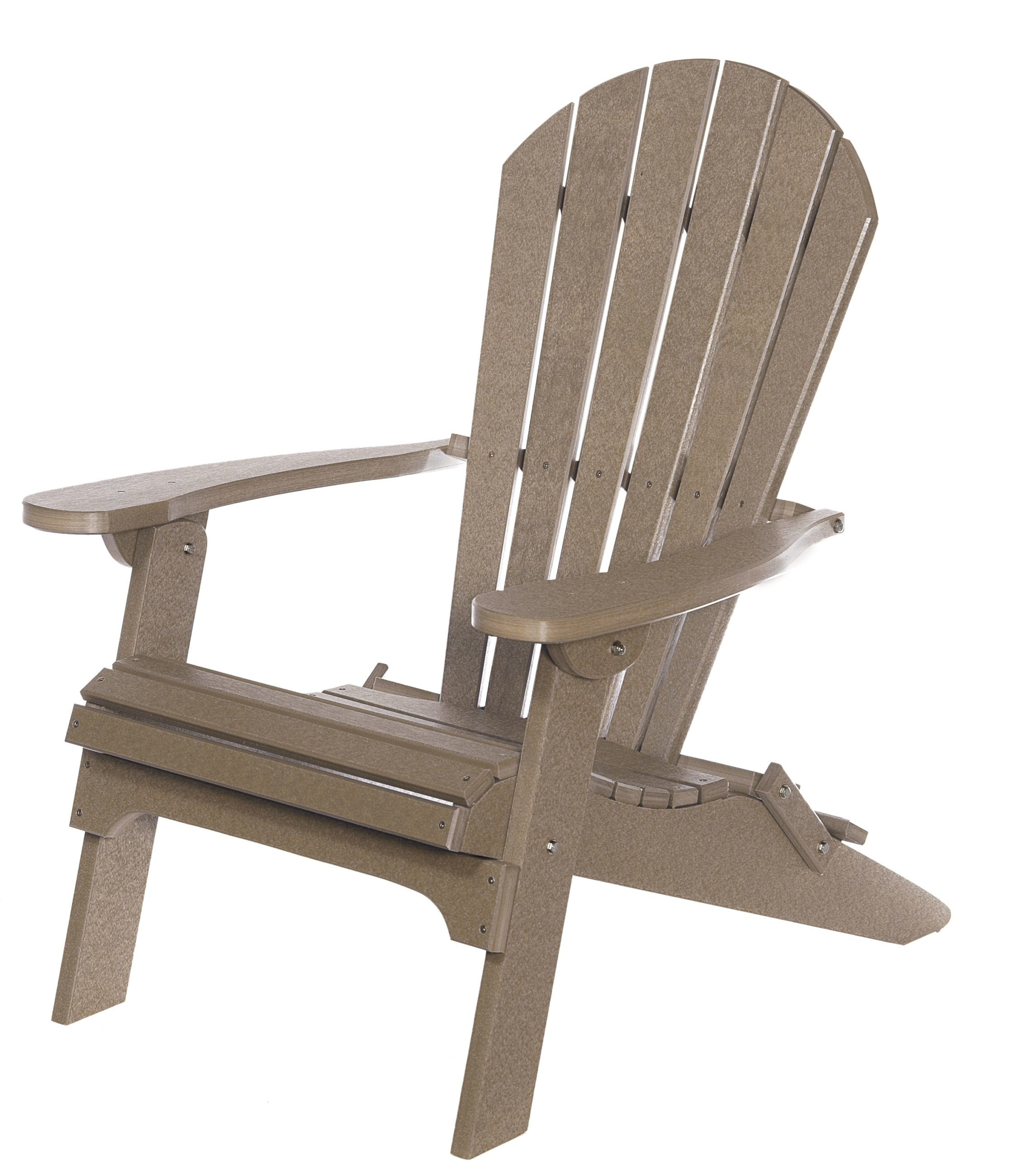 Living Accents Folding Adirondack Chair Folding Adirondack Chair Amish Originals
