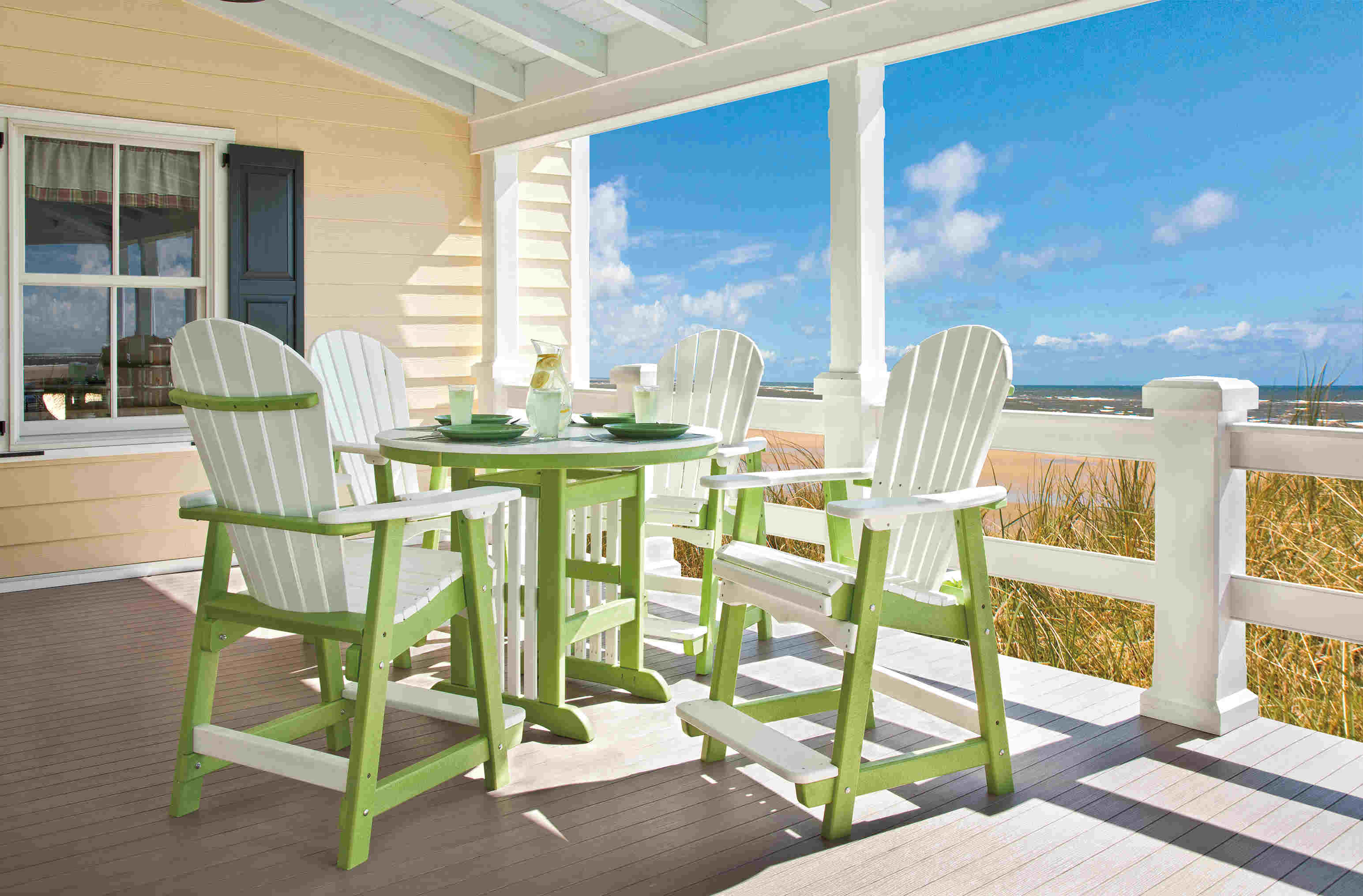 Outdoor Poly Lumber Furniture