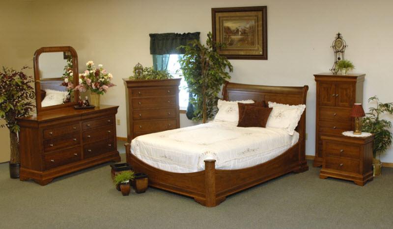 Look Oak Amish Bedroom Furniture  Amish Resort Furniture