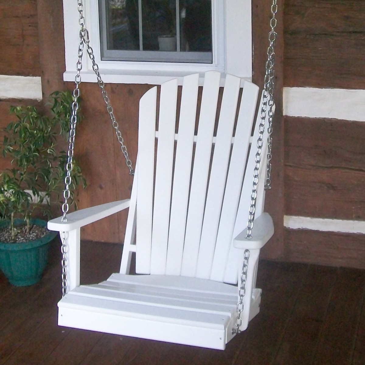 2 Adirondack Chair Swing  Amish Woodwork