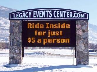led monument sign