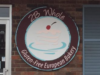 Sandblasted Bakery Sign