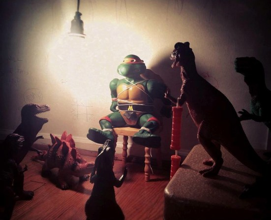 No toy is safe - dinovember
