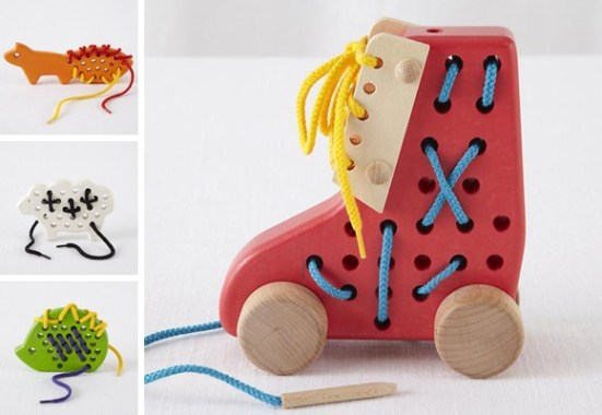 Lacing toys