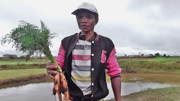 Aimée, technicien au site carottes