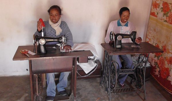 Atelier de couture de Sahamadio