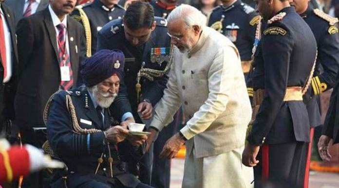 air force marshal arjan singh