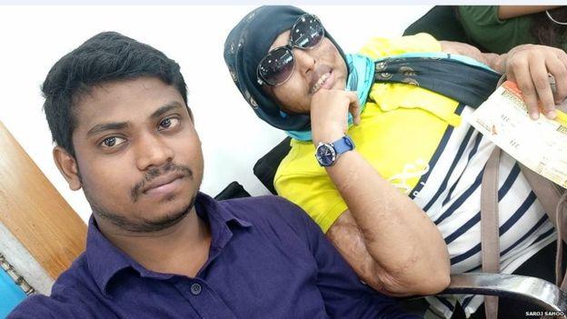 Saroj Kumar Sahoo and Pramodini Roul Love Story