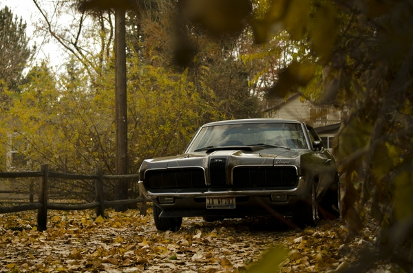 Autumn Old Car Wallpaper Old School Muscle Cars Car Enthusiast