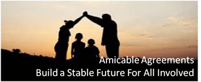 Amicable Agreements - parents forming house