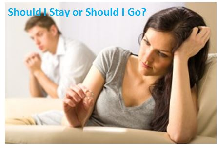 Should I Stay or Should I Go?  Part 1 – Using a Love Triangle to Assess Your Relationship