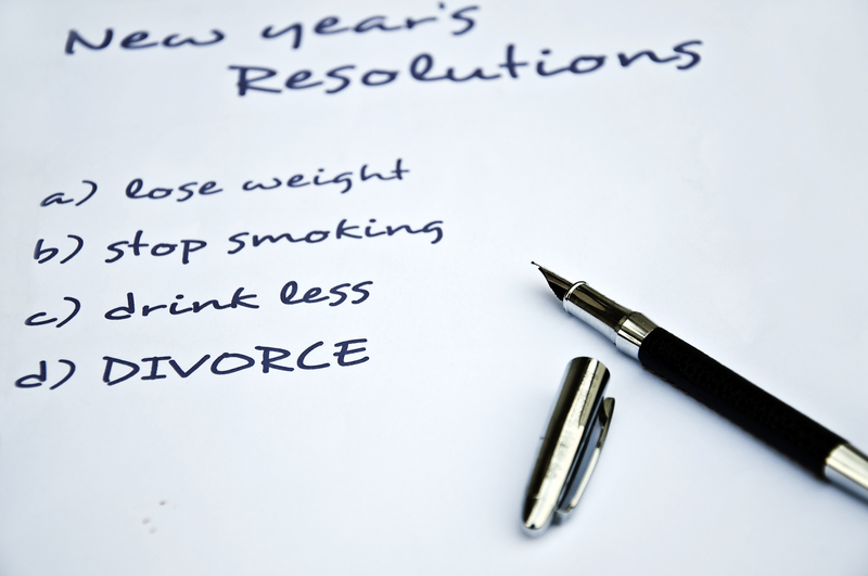 Resolving to Be Happy Might Require the Courage to Divorce