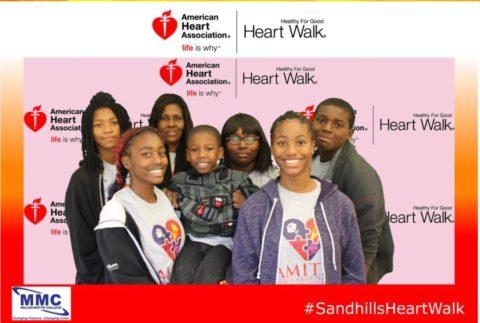 Fayetteville, NC Heart Walk Community Outreach