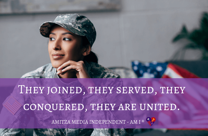 They joined, they served, they conquered, they are united.