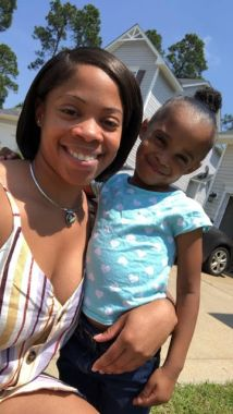 Lika and her daughter