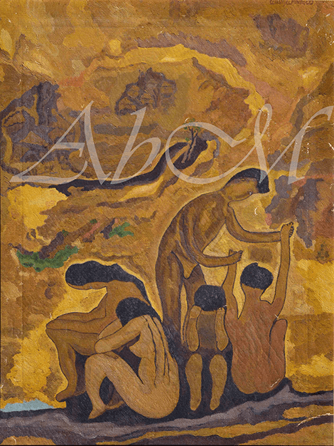 Hope:  73 /54.5 cm, oil on canvas, undated