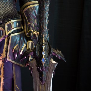 Warcraft Movie Costumes at Blizzcon 2014