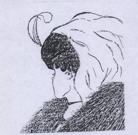 ماذا ترى في هذه الصورة هل ترى فيها وجه امرأة عجوز أم وجه فتاة شابة