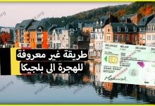 Photo of ماذا لو أخبرناك عن طريقة غير معروفة تساعدك في الهجرة الى بلجيكا وتحصل بعدها على الاقامة؟