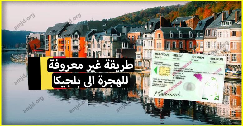 ماذا لو أخبرناك عن طريقة غير معروفة تساعدك في الهجرة الى بلجيكا وتحصل بعدها على الاقامة؟