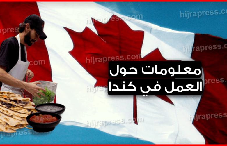 العمل في كندا 2019 .. كل ماتريد معرفته حول هذا الموضوع بالتفصيل