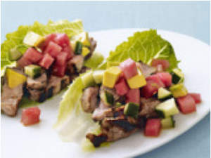 Lettuce Wrap Grilled Tacos