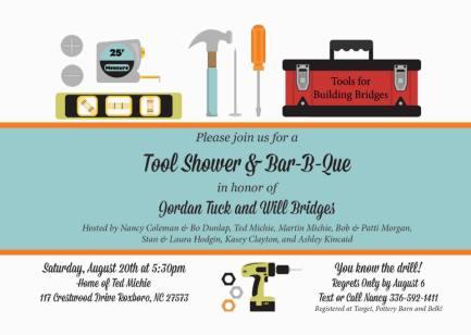 Tool Shower & Bar-B-Que