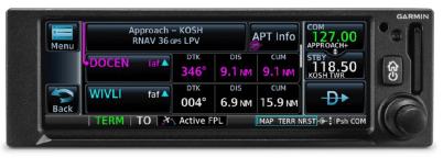 Garmin Introduces the GNC® 355 GPS/Comm Radio