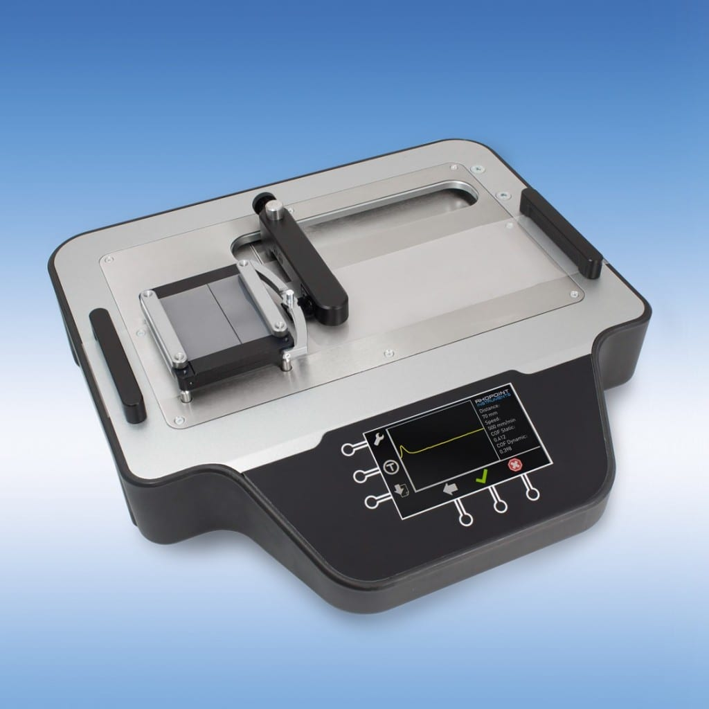 New Coefficient Of Friction Tester