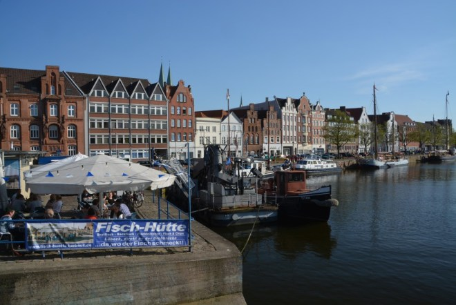 Lübecks beste Fischbude an der Untertrave