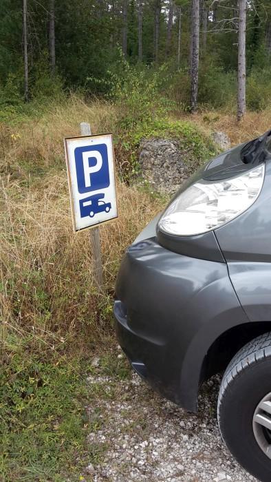 Klaus parkt vorschriftsmäßig!