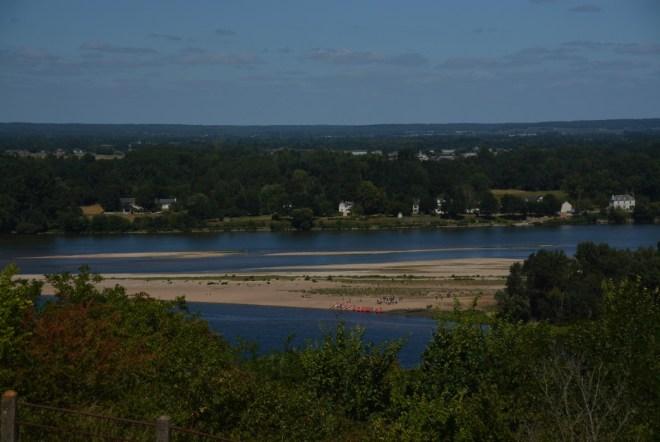Zusammenfluss von Loire und Vienne