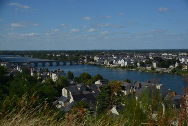 Blick auf Saumur