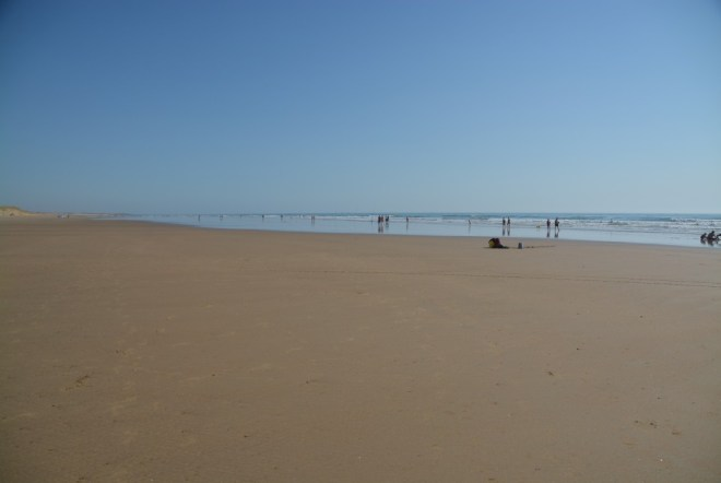 Strand bei immer noch 'Ebbe'