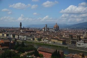 Florenzpanorama vom Piazzale Michelangelo
