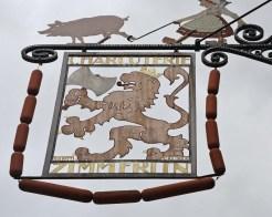 Schild in Colmar 2