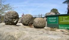 Schleuder-Steinkugeln