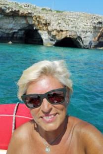 Léuca - auf der Grottentour Ionisches Meer