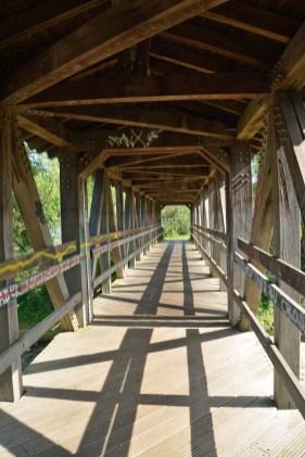 Brücke über der Ahrmündung bei Sinzig