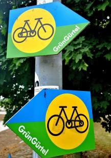 Frankfurter Grüngürtel Zeichen
