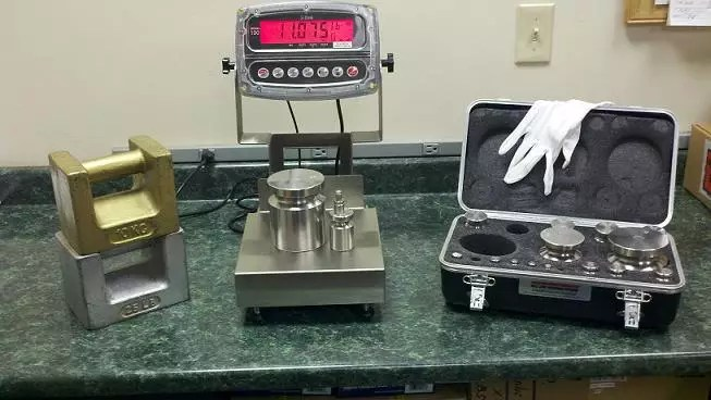 Weighing Scale Calibration Service  Equipment  AML Instruments