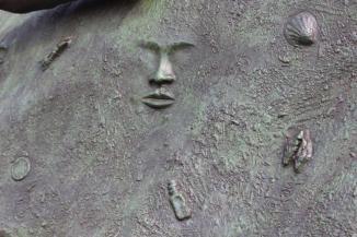 Detail of Tubman's skirt