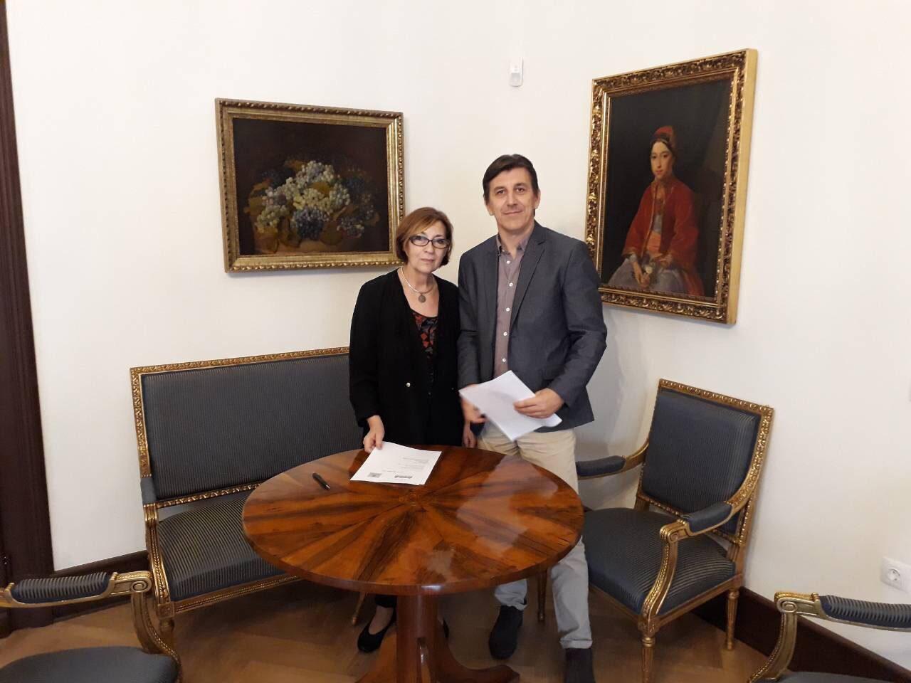 """Потпишан договорот со Народниот Музеј од Белград за изложбата """"100 год. Требениште"""""""