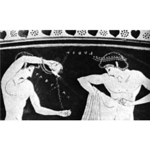 Намената на арибалосот во архајскиот период